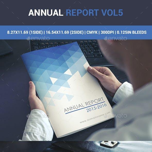 Annual Report Catalogue Vol5