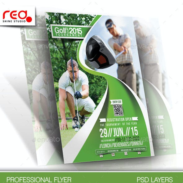 Golf Club Flyer & Poster Template