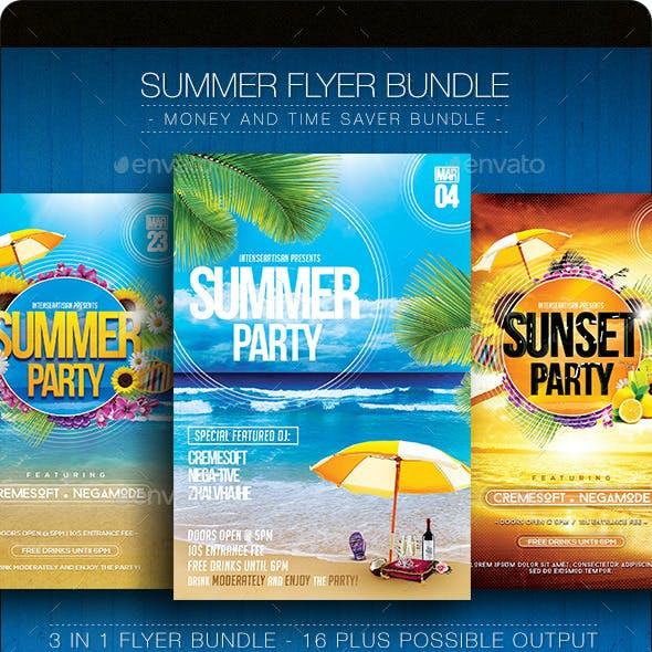 Summer Flyer Bundle V.1