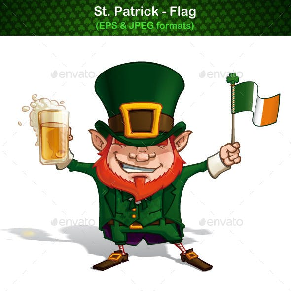 St Patrick - Flag