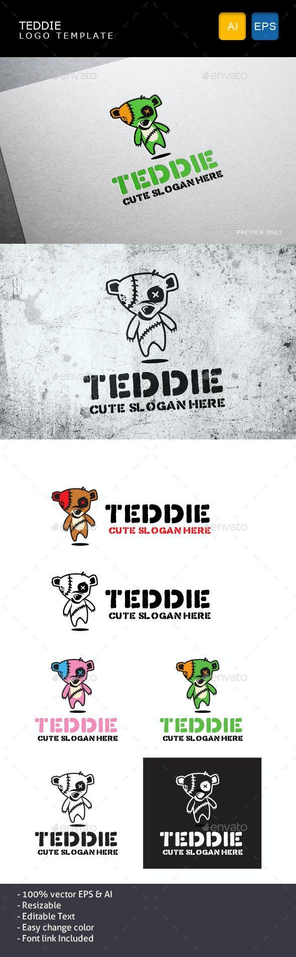 Teddie - Objects Logo Templates