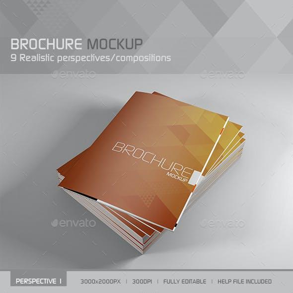 Realistic Brochure/Booklet/Magazine Mockup