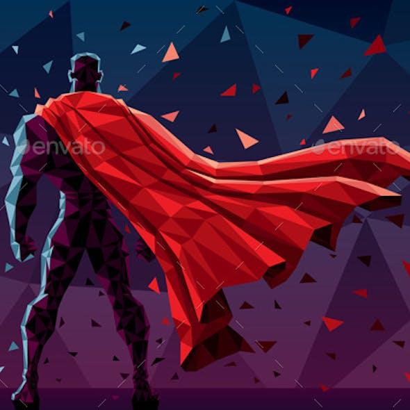 Low Poly Superhero