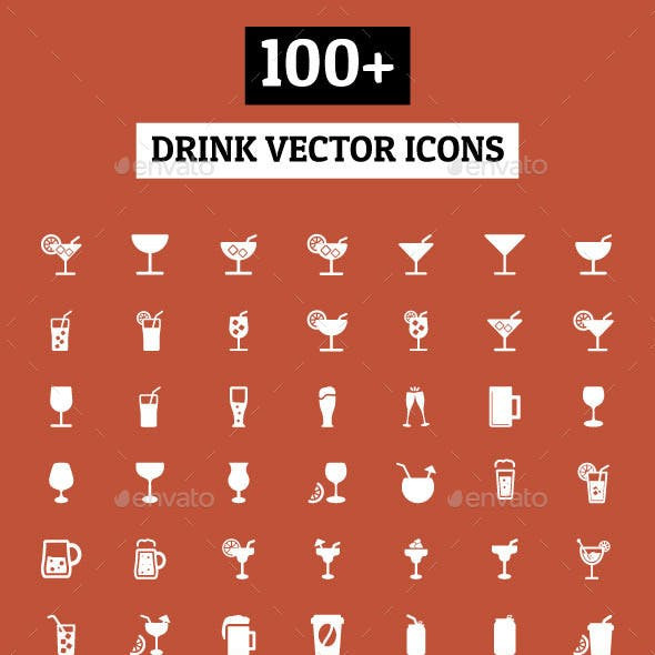 100+ Drink Vector Icons