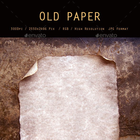 Old Paper 0127