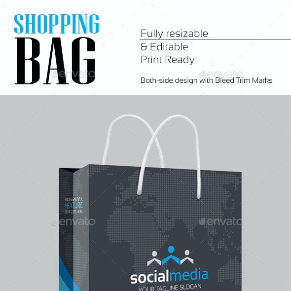 Social Media Shopping Bag