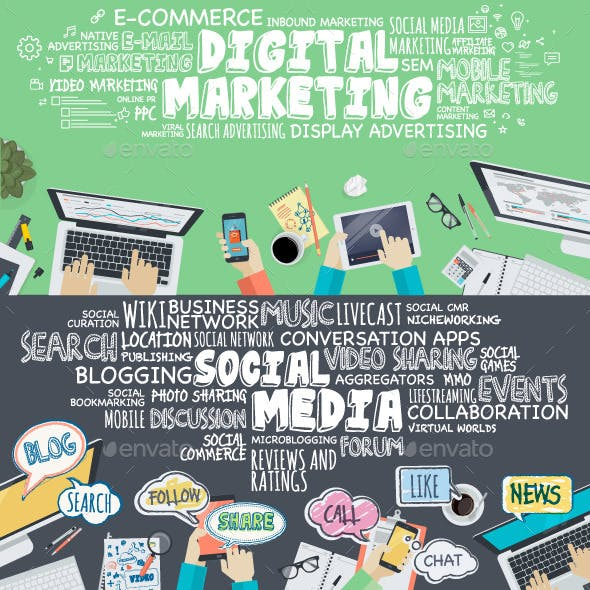Concepts for Social Media and Digital Marketing