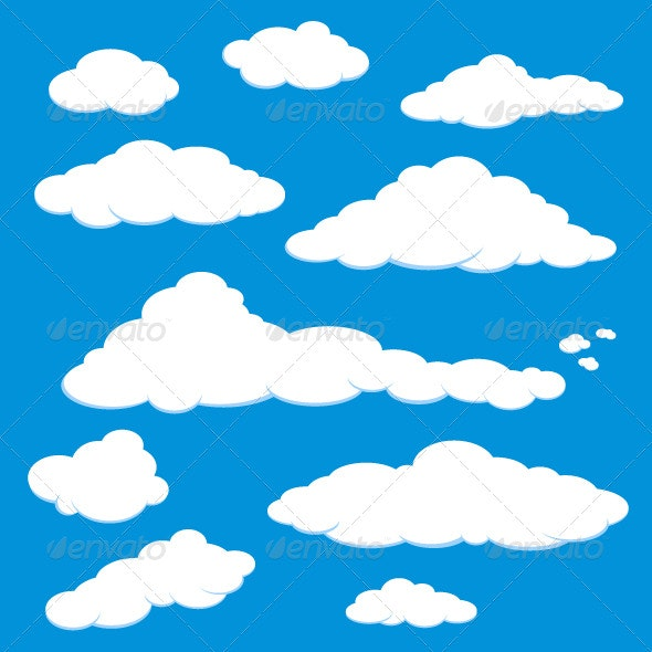 Cloud Blue Sky Vector - Nature Conceptual