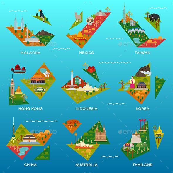 Mini Island Maps