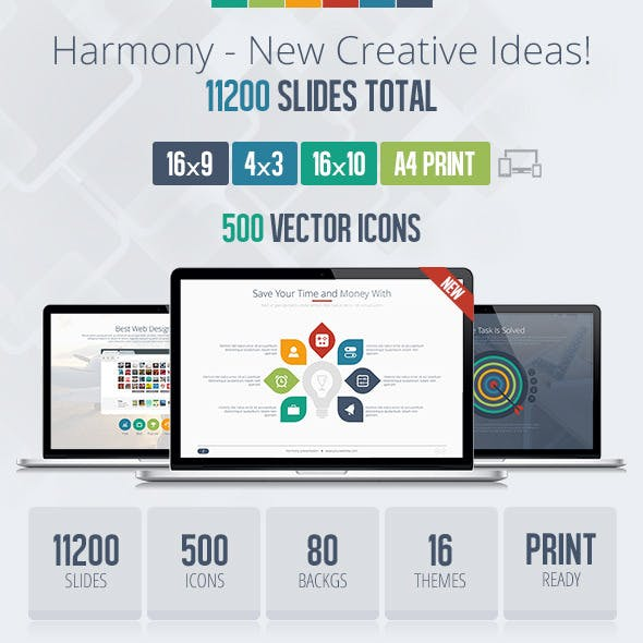 Harmony Usability Keynote Presentation Template