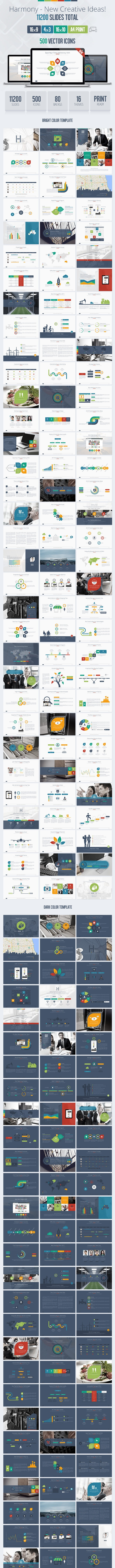 Harmony Usability Keynote Presentation Template - Business Keynote Templates