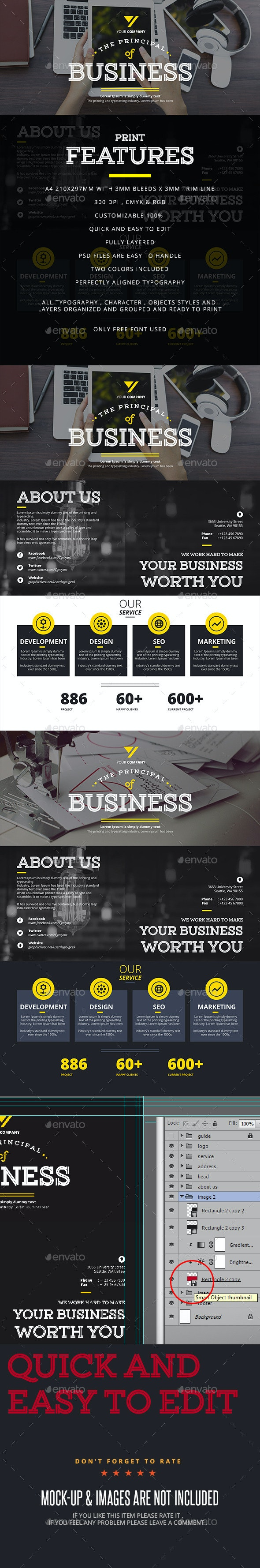 Business Corporate Flayer - Corporate Flyers