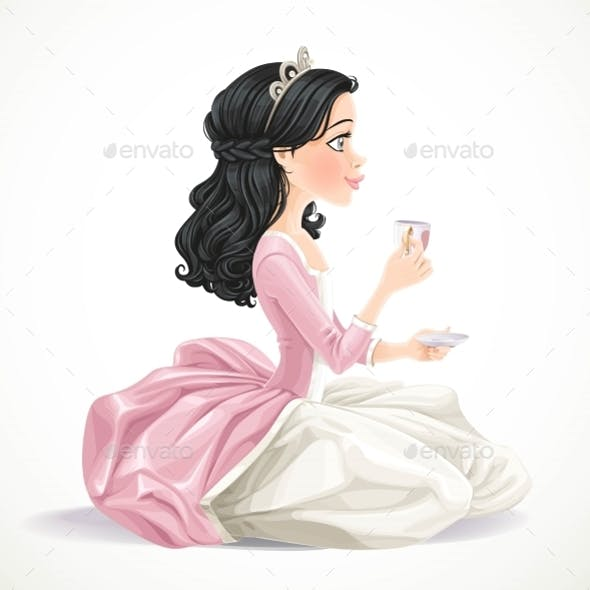 Princess with Tea