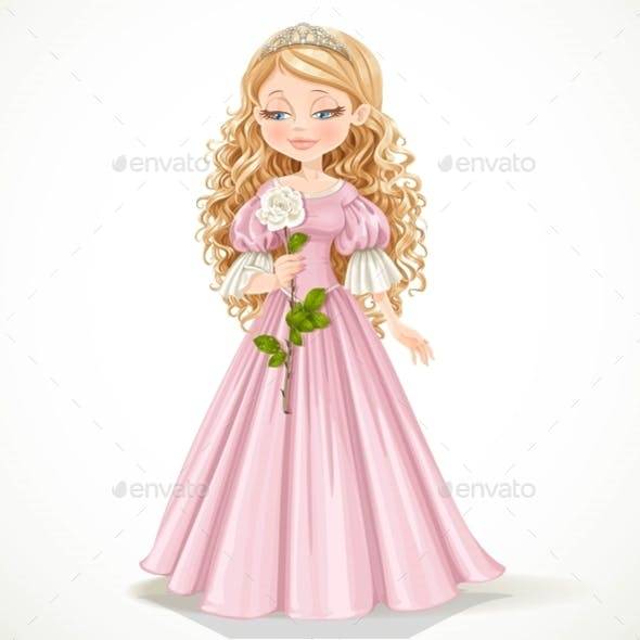Princess with Flower