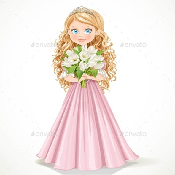 Princess with Flowers
