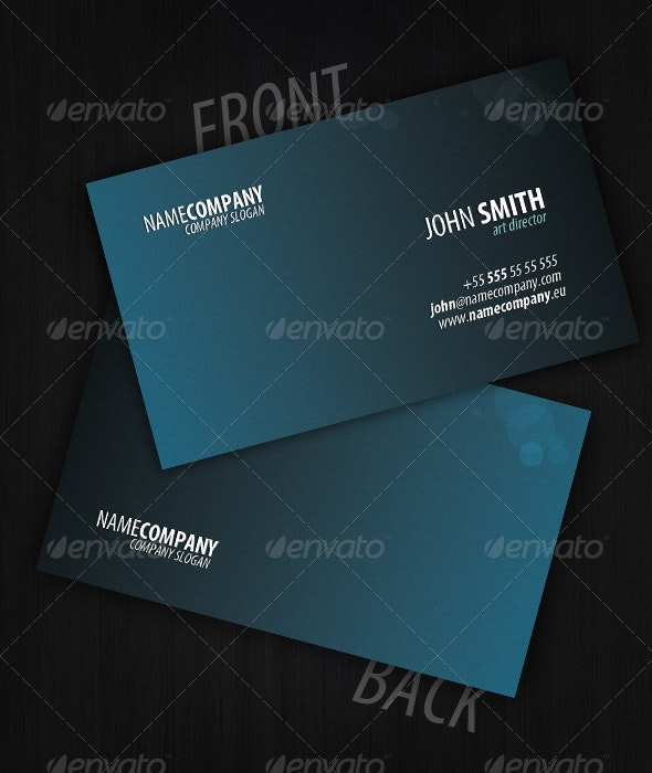Bable Business Card - Corporate Business Cards