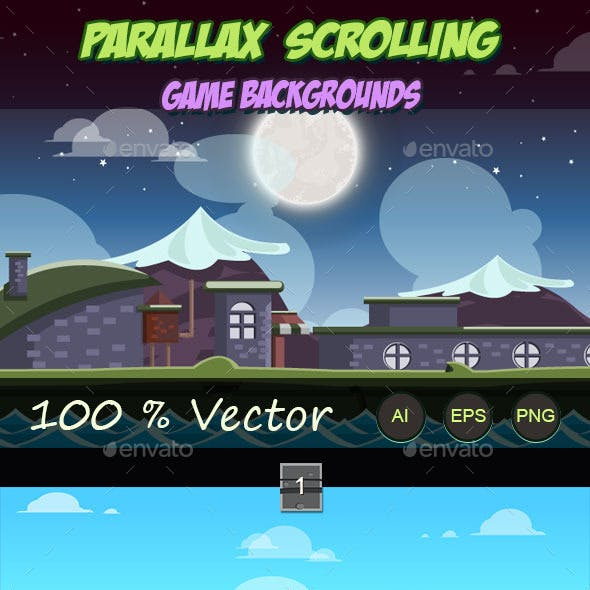 Parallax Scrolling Graphics, Designs & Templates