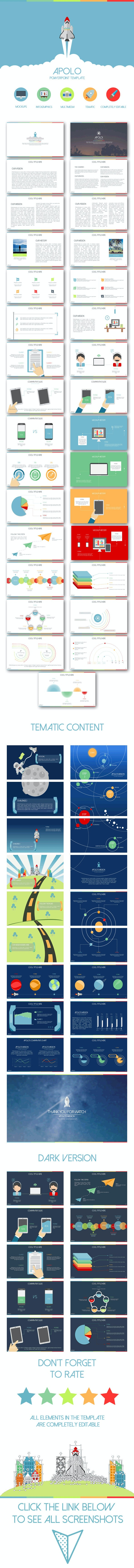 Apolo - PowerPoint Templates Presentation Templates