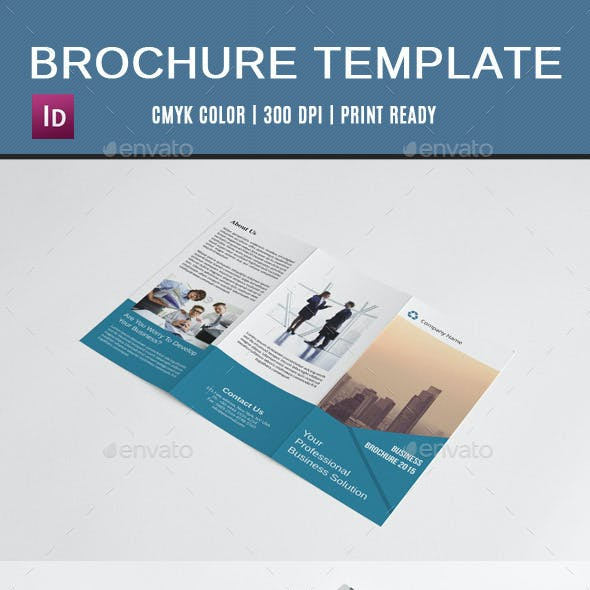 Corporate Trifold Brochure-V128