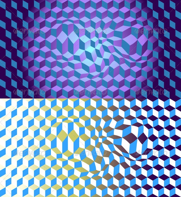 Illusion Backgrounds - Abstract Conceptual