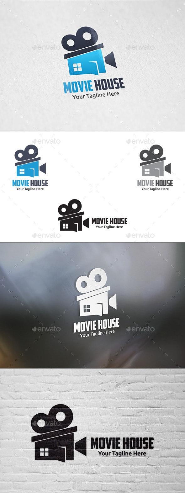 Movie House - Logo Template - Buildings Logo Templates