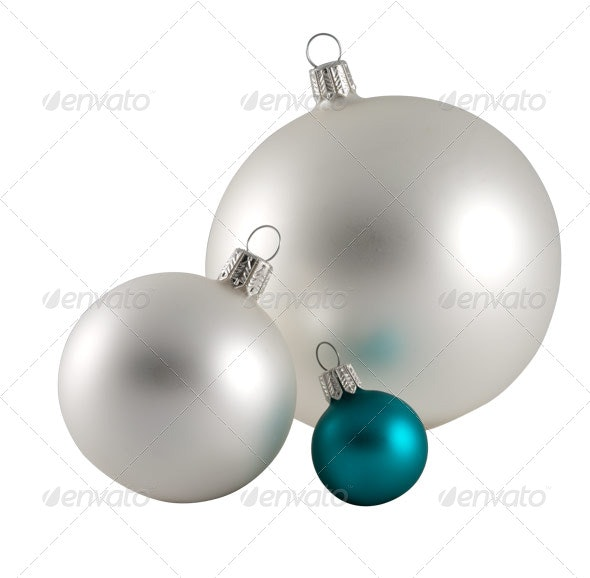 Christmas Baubles II - Home & Office Isolated Objects