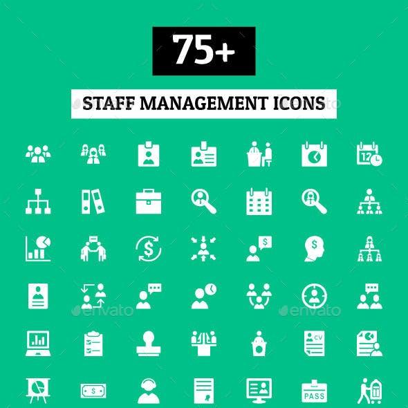 75+ Staff Management Icons