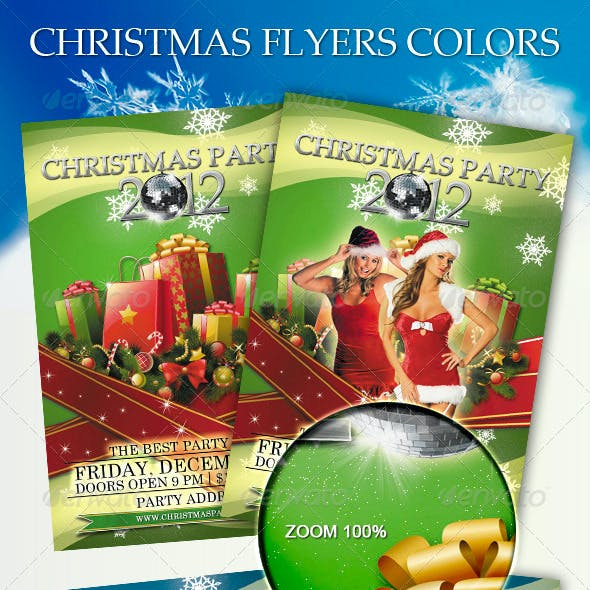 Christmas Flyers Colors