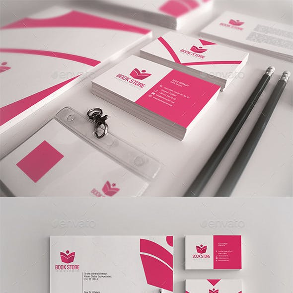 Book Store Corporate Identity Package