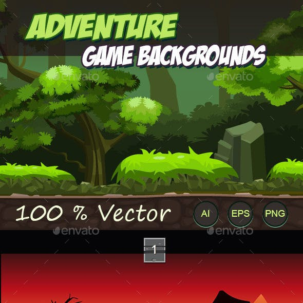 Adventure Game Backgrounds
