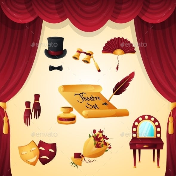 Theater Elements Set