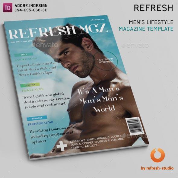 Refresh Men's Lifestyle Magazine