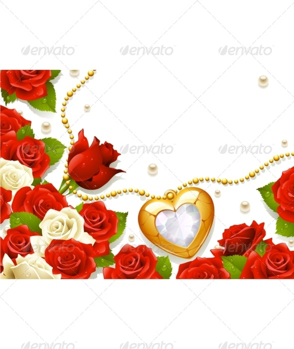 Valentine's Day greeting card 02. - Seasons/Holidays Conceptual