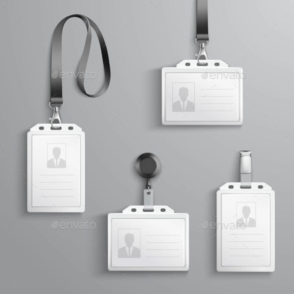 Identification Cards Set