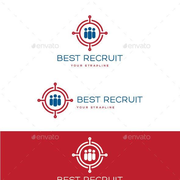 Best Recruit Logo