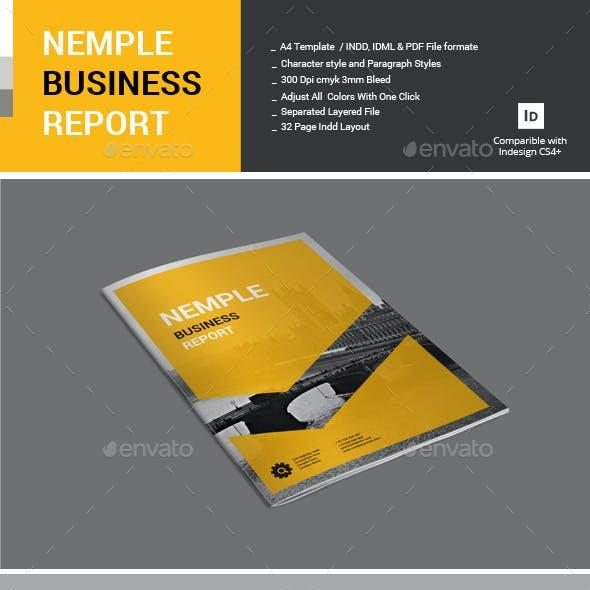Nemple Business Report