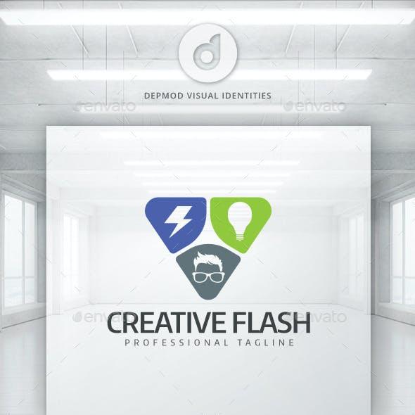 Creative Flash Logo