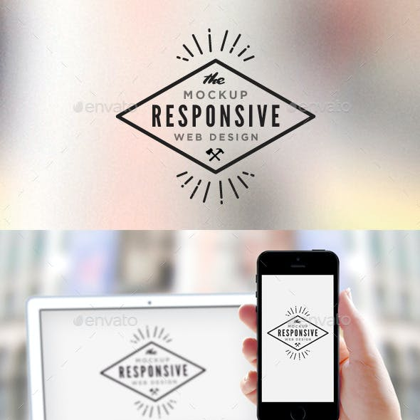 Responsive Design Screen Mock-Up
