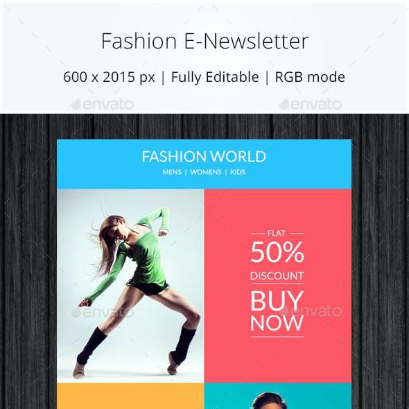 Fashion Ecommerce Email Newsletter