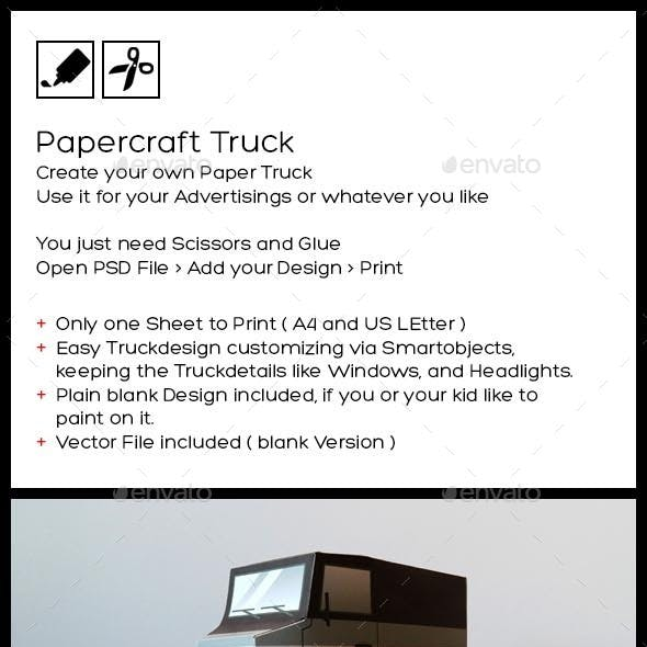 Paper Truck - Papercraft your Own Truck