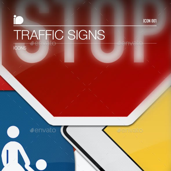 Icons • Traffic Signs