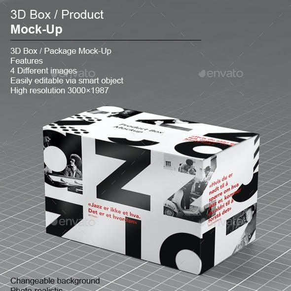 3D Box / Product Mock-Up v.1