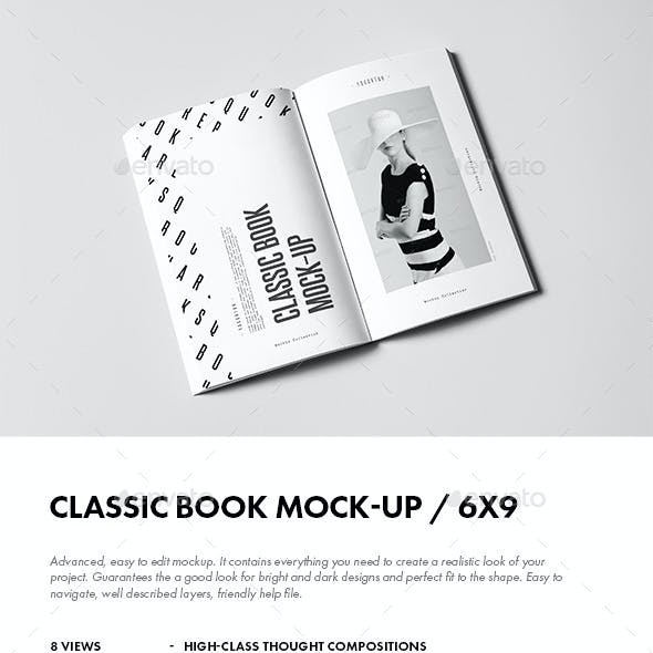 Classic Book Mock-up