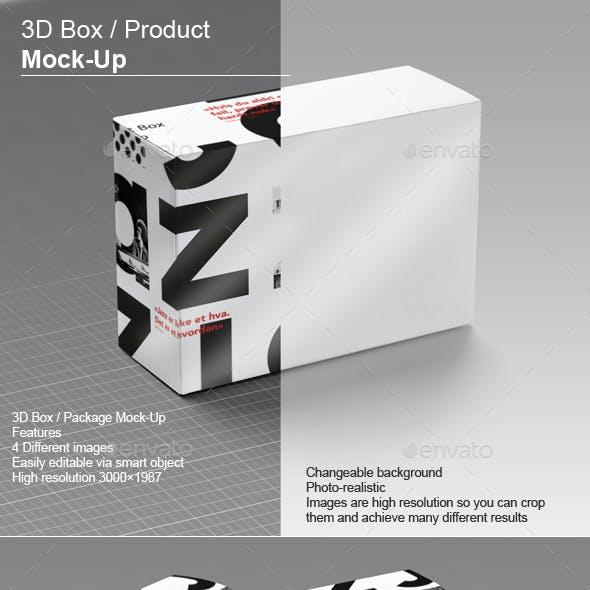 3D Box / Product Mock-Up v.2
