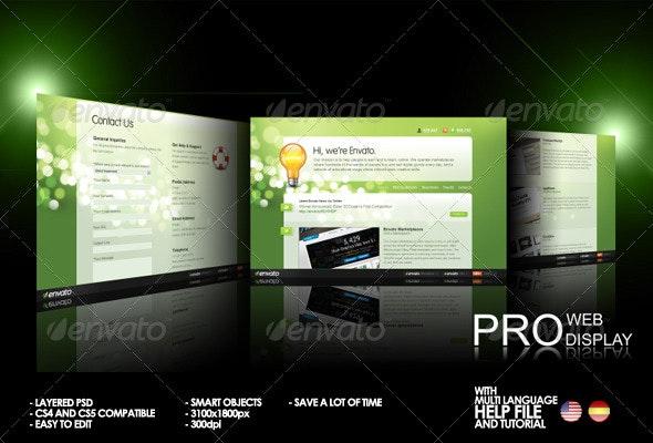 Pro Web Display - Web Elements