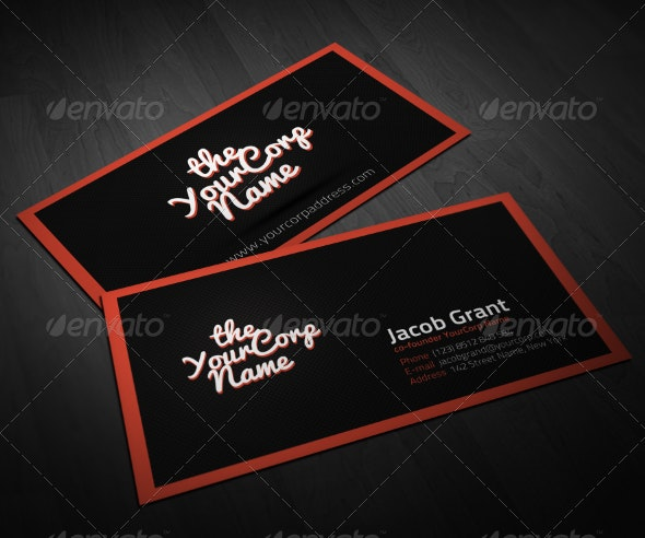 Creative People Business Card  - Creative Business Cards