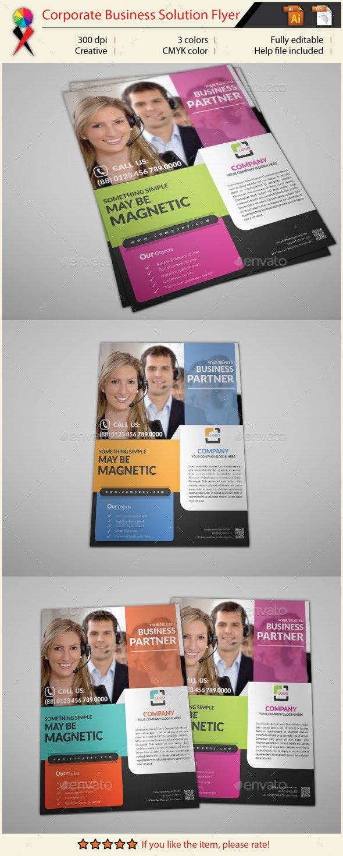 Multipurpose Business Flyer Print Template - Corporate Flyers
