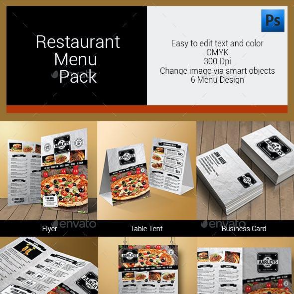 Restaurant Menu Pack