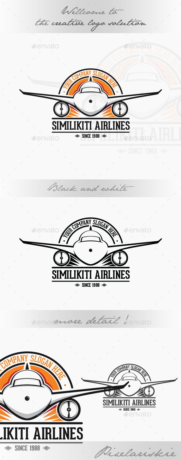 Airlines Logo - Objects Logo Templates