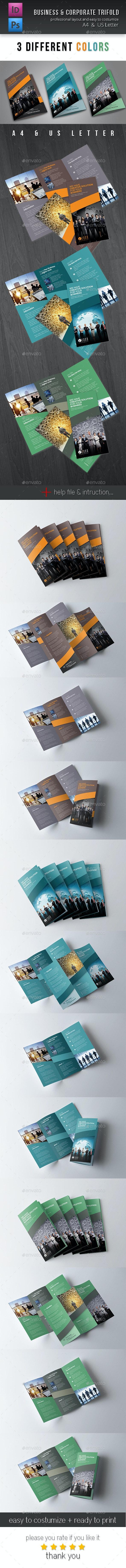 Trifold Brochure Vol. 2 - Corporate Brochures